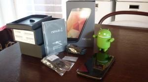 Nexus 4 ausgepackt
