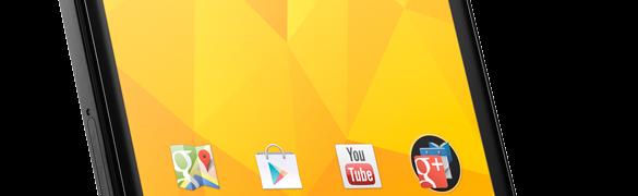 Nexus 4 - das Google Smartphone