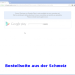 PlayStore Schweiz Deutschland