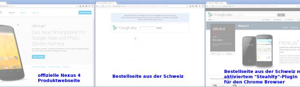 Meine Nexus 4 Bestellstory